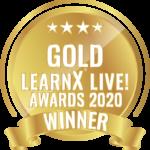 LearnX Live Awards Gold Medal winner 2020