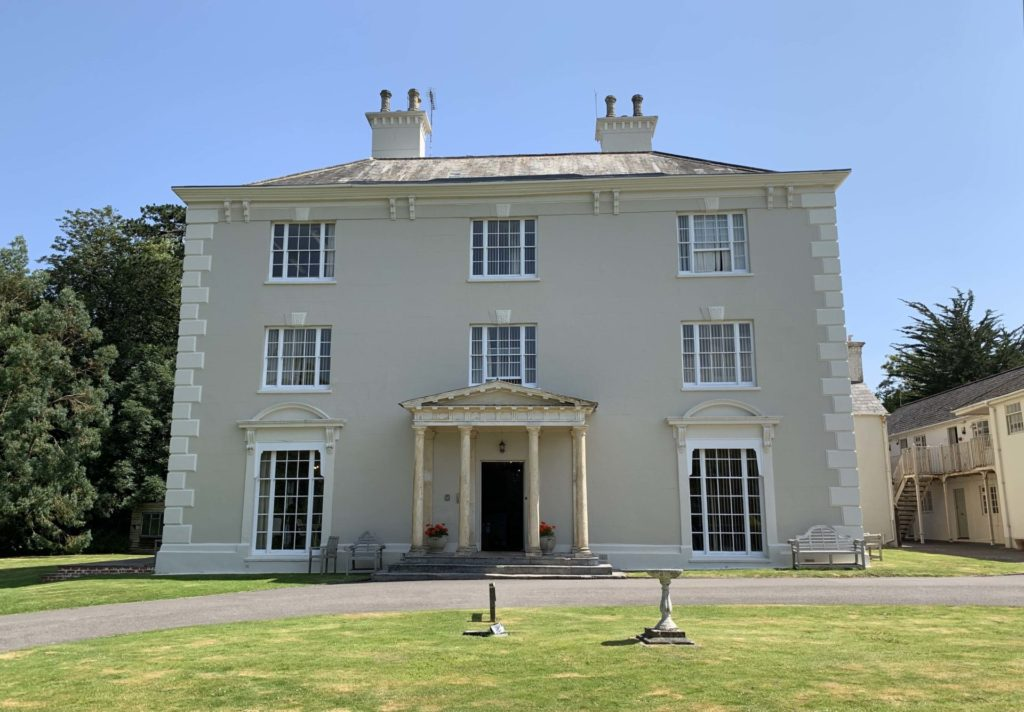 Redcrier Head Office at Rumwell Hall